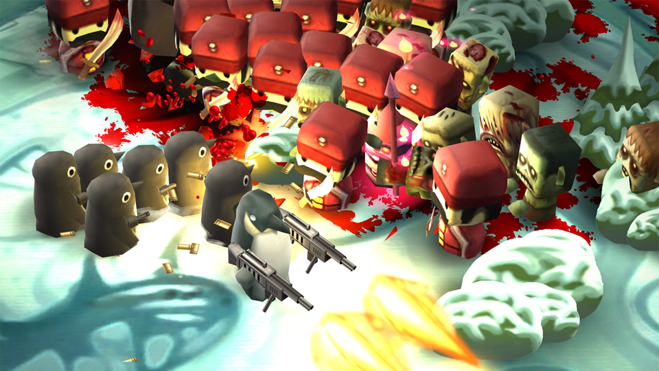 Minigore 2: Zombies на телефон
