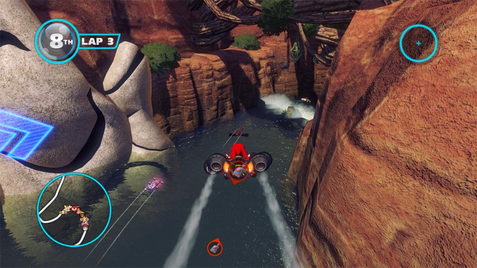 Sonic Racing Transformed на телефон