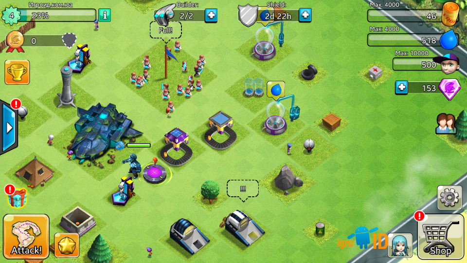 X-War: Clash of Zombies на андроид