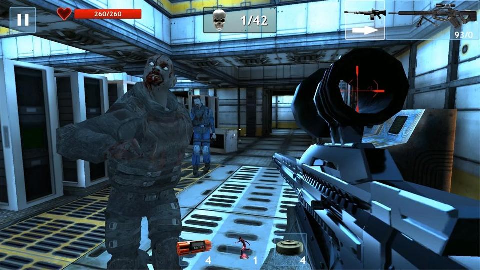 Zombie Objective на андроид