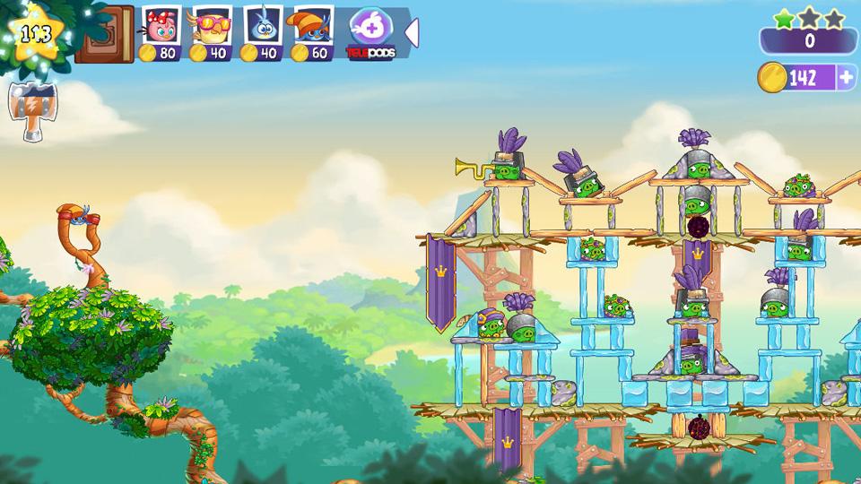 Angry Birds Stella на андроид