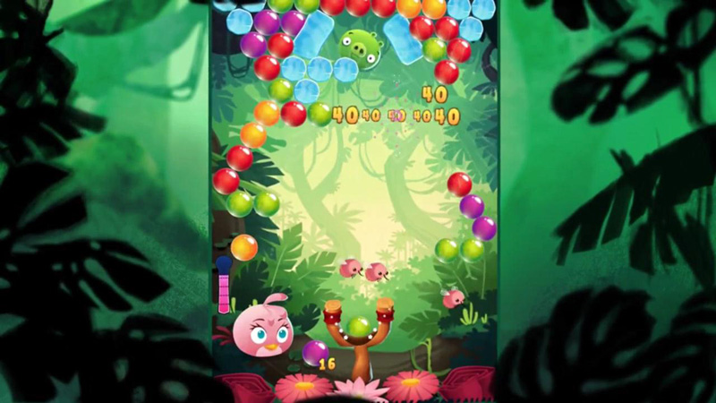 Angry Birds Stella POP на андроид