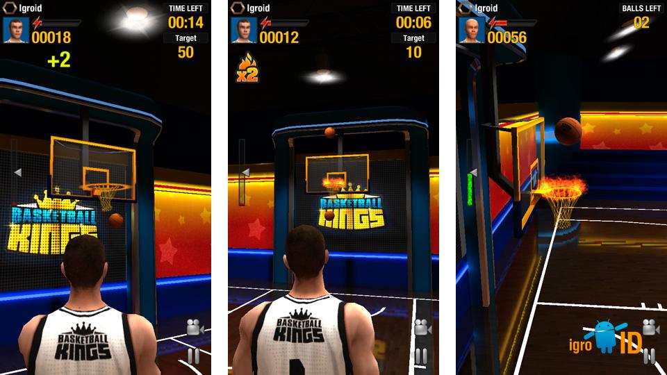 Basketball Kings на телефон