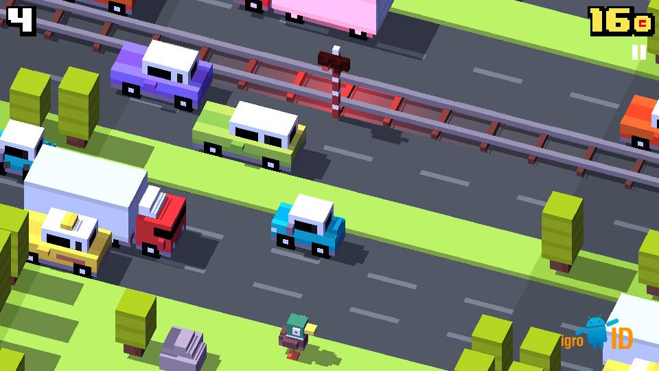 Crossy Road на андроид