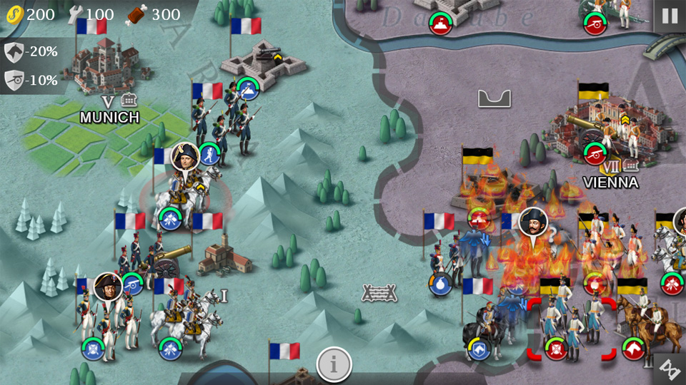 European War 4: Napoleon на андроид