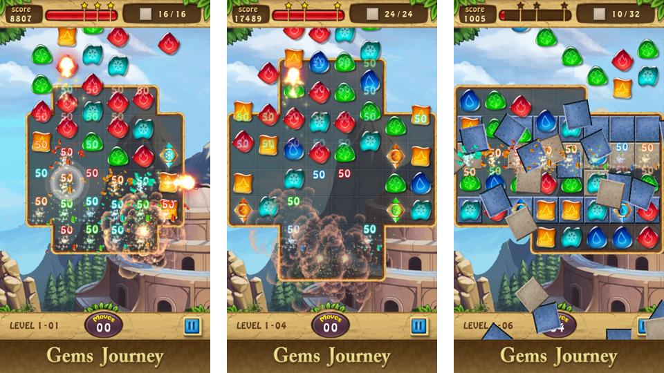 Gems Journey на андроид