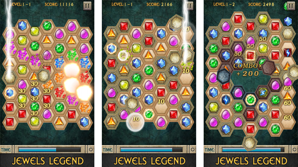 Jewels Legend на андроид