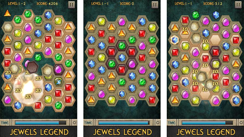 Jewels Legend скачать