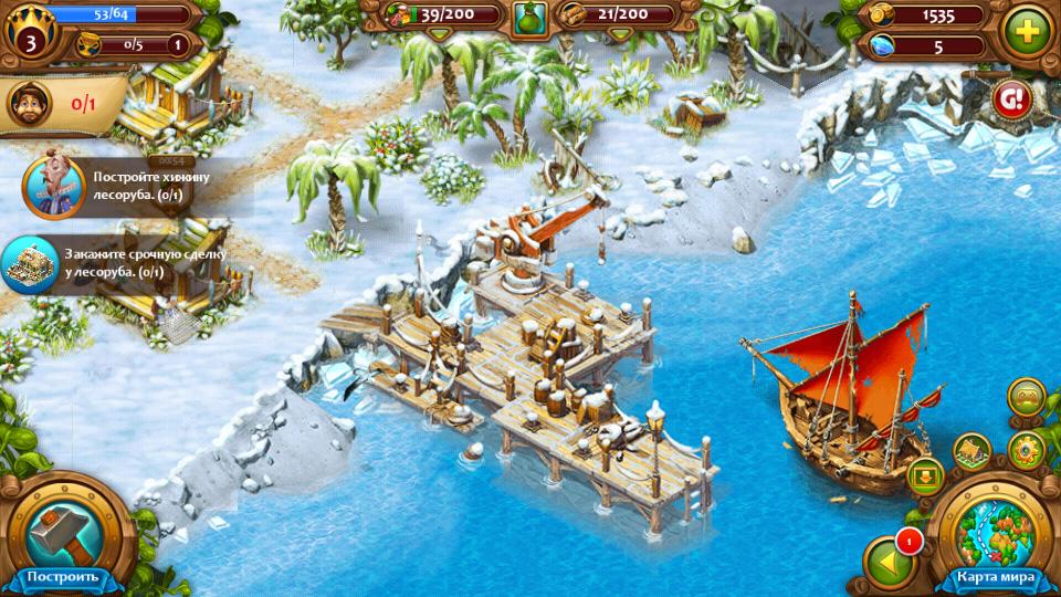 Морская империя на телефон