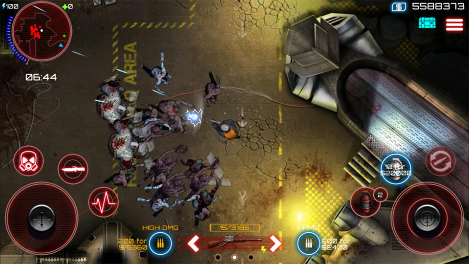 SAS: Zombie Assault 4 на телефон