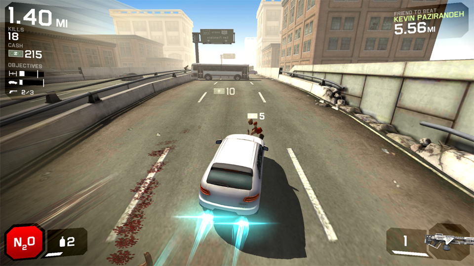 Zombie Highway 2 на андроид