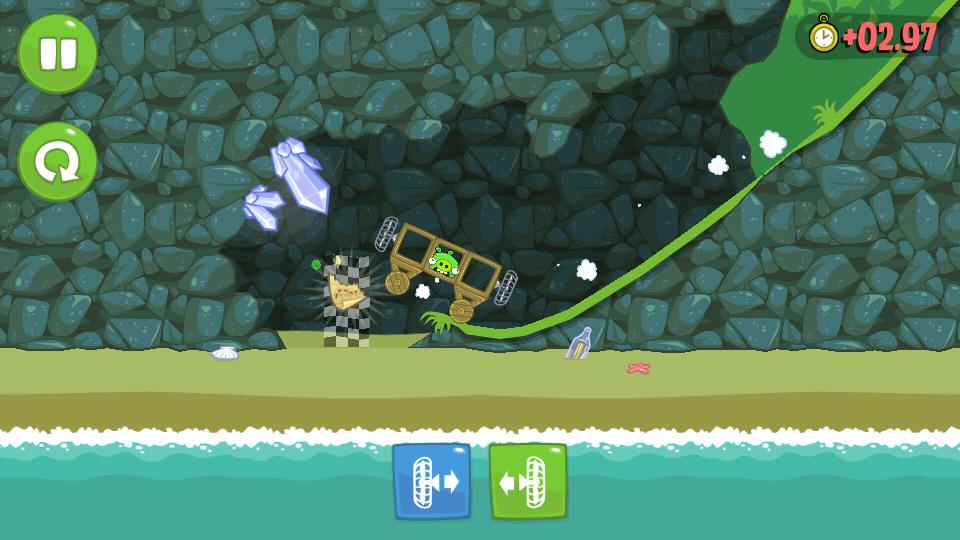 Bad Piggies HD на андроид