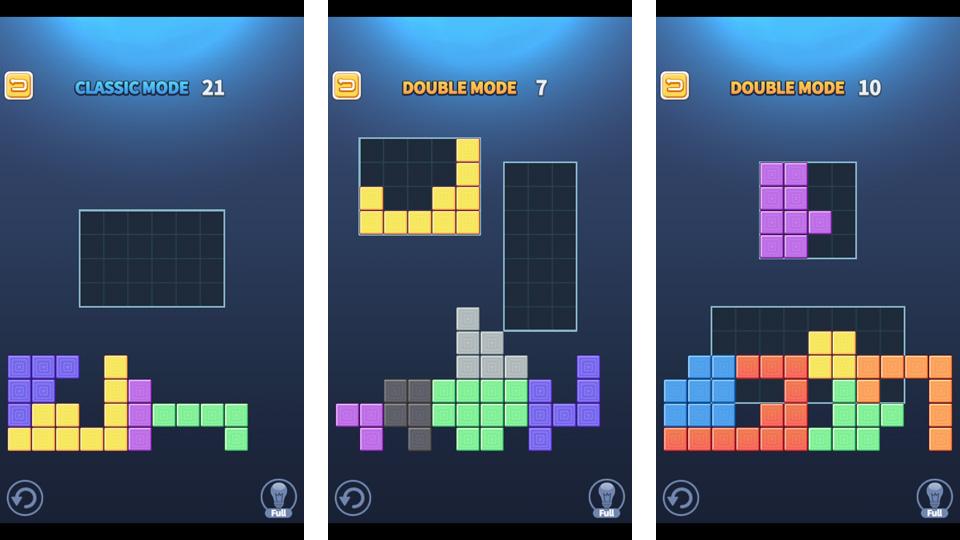 Block Puzzle King на телефон