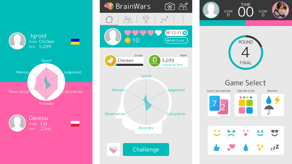 Brain Wars на андроид