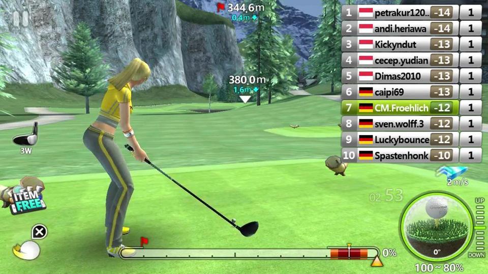 Golf Star на андроид