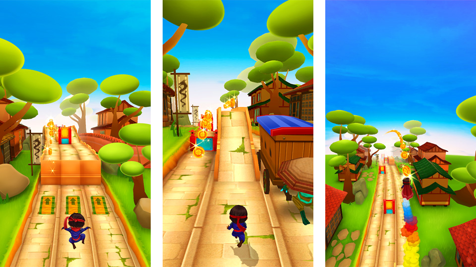 Ninja Kid Run на андроид