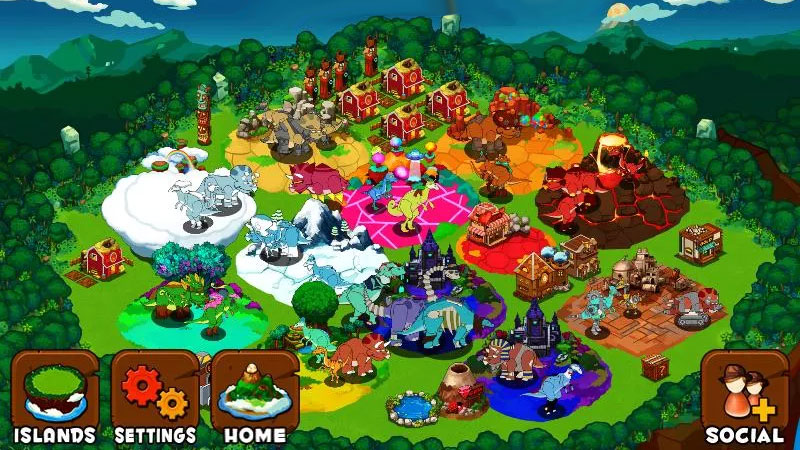 Остров динозавров на андроид