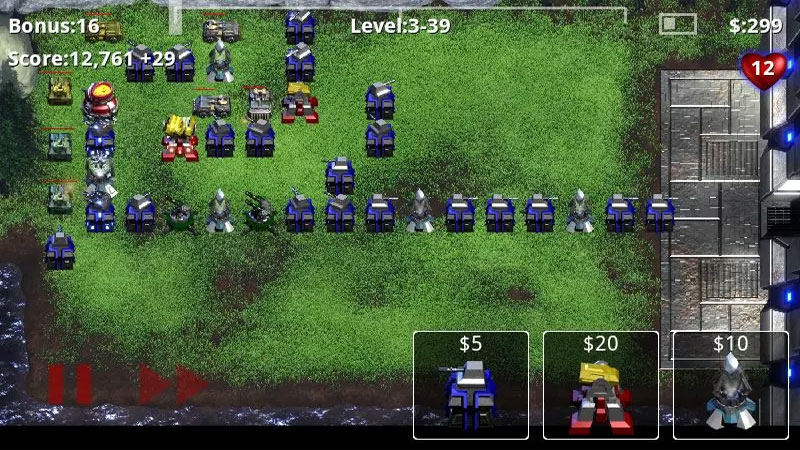 Robo Defens на андроид