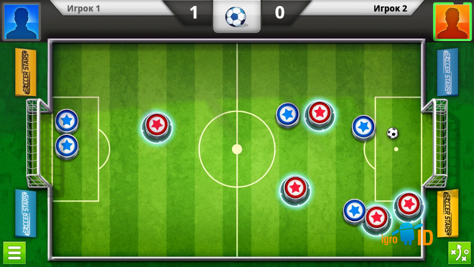 Soccer Stars на андроид