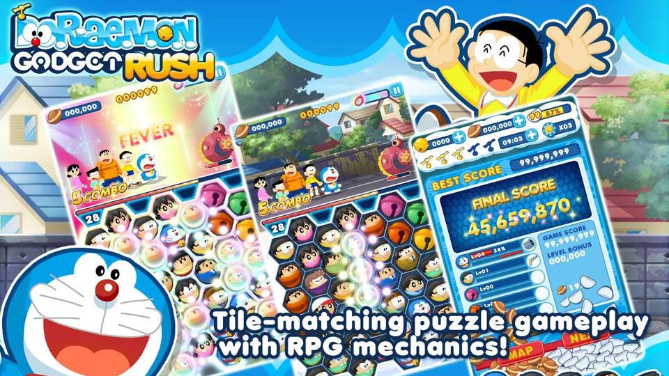 Doraemon Gadget Rush на андроид