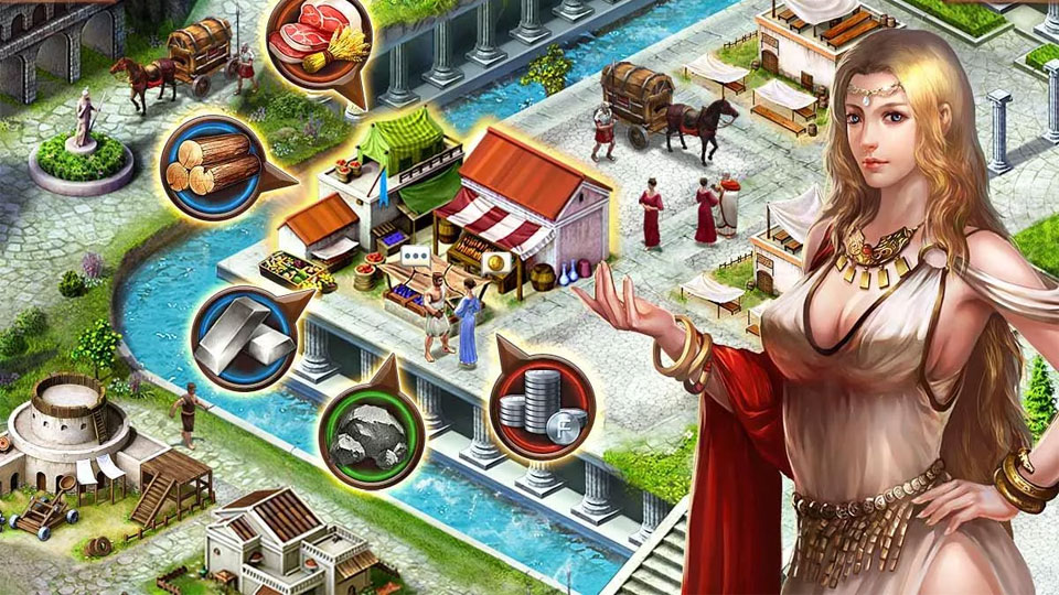 Empire War: Age Of Heroes на телефон