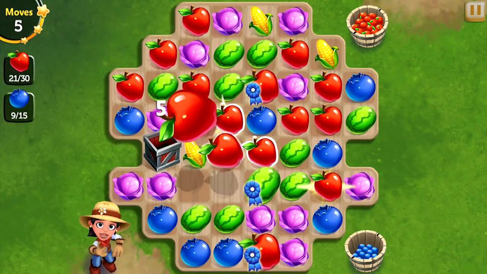 FarmVille: Harvest Swap на андроид