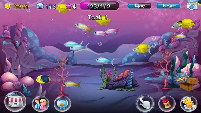 Fish Adventure на андроид