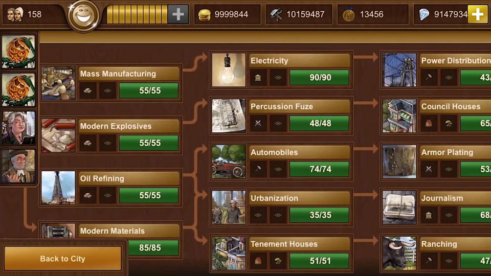 Forge of Empires на телефон