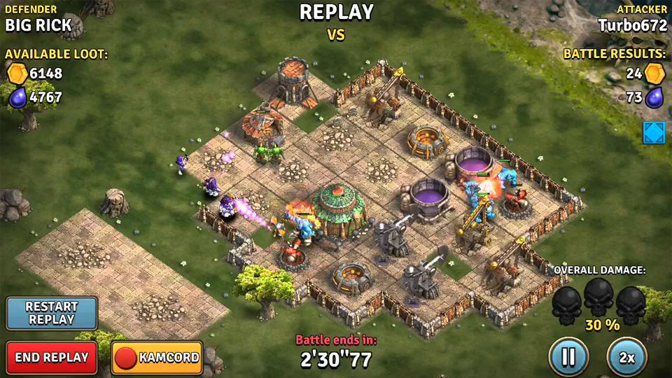 Heroes of War: Orcs vs Knights скачать