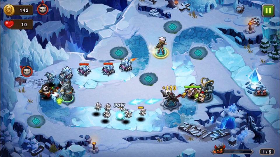 Magic Rush: Heroes на телефон