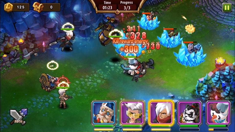 Magic Rush: Heroes скачать