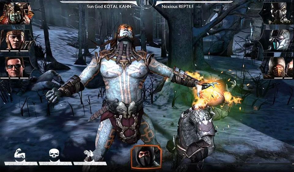 Mortal Kombat X на телефон