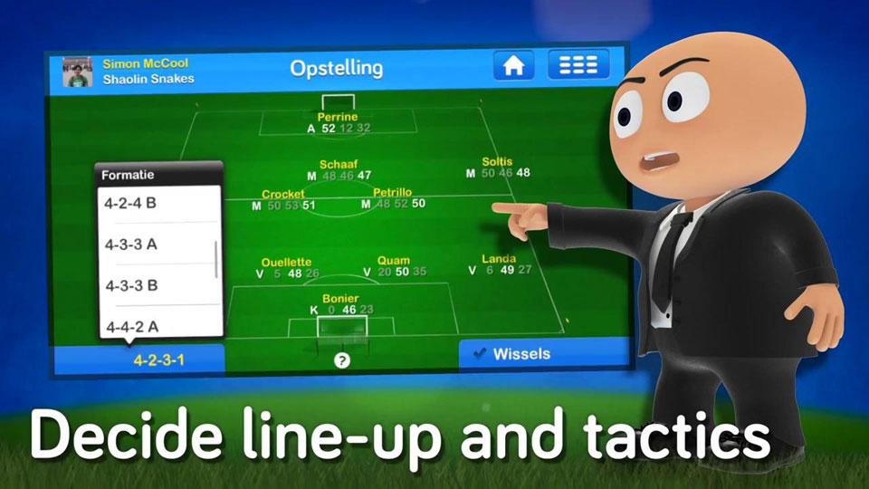 Футбольный Онлайн-Менеджер ФОМ на андроид