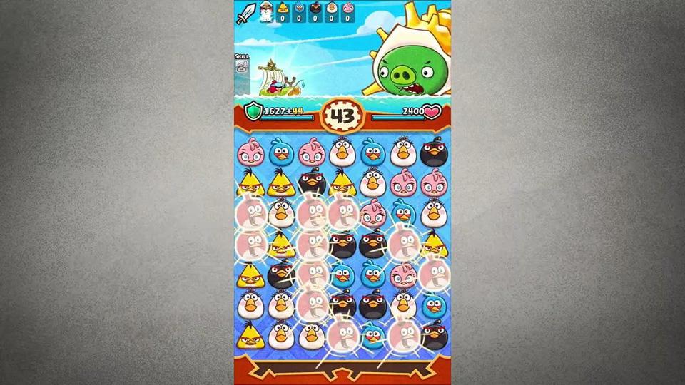Angry Birds Fight! на андроид