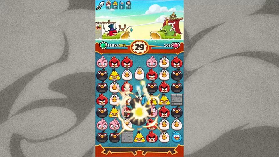 Angry Birds Fight! на телефон