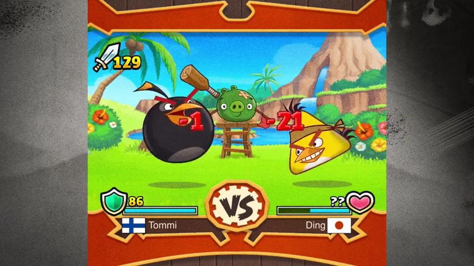 Angry Birds Fight! скачать