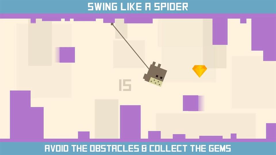 Spider Square на андроид