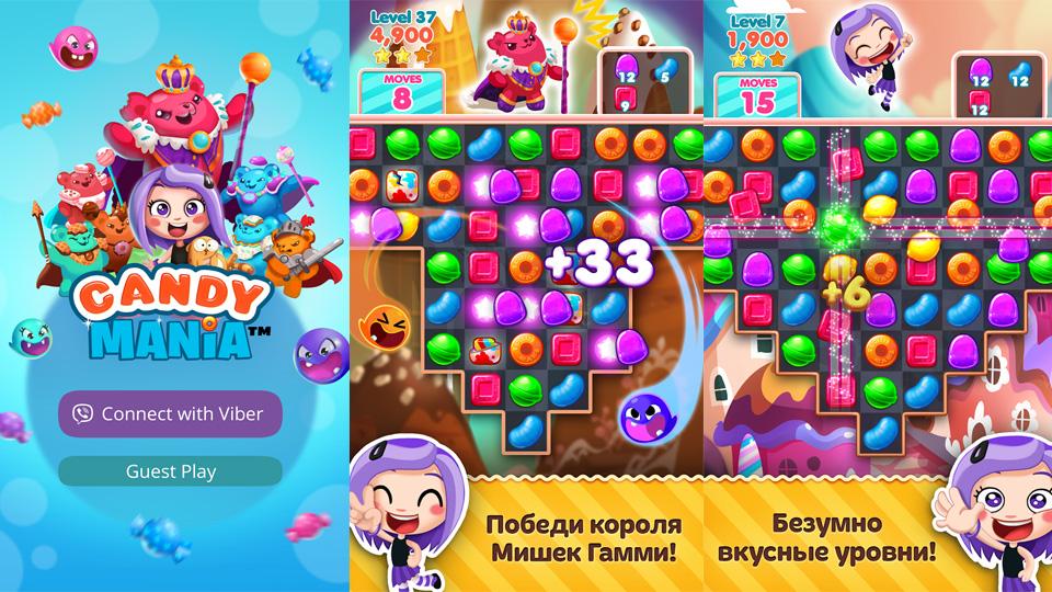 Candy Mania на андроид