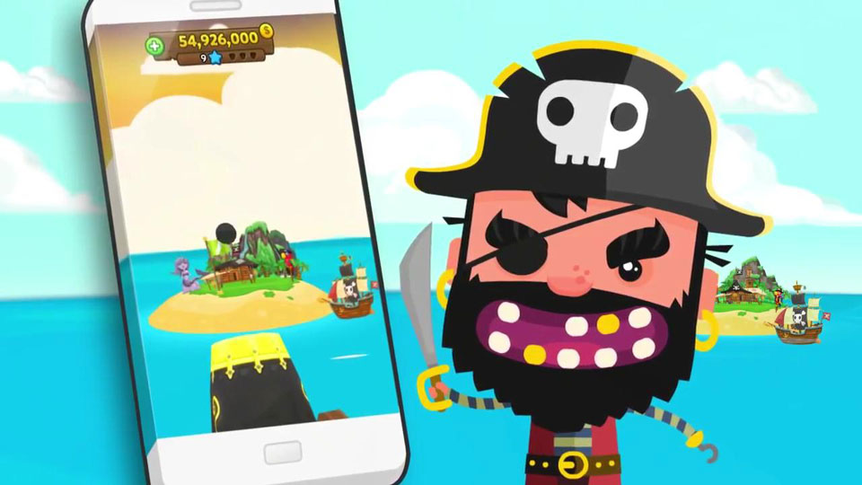 Pirate Kings на андроид