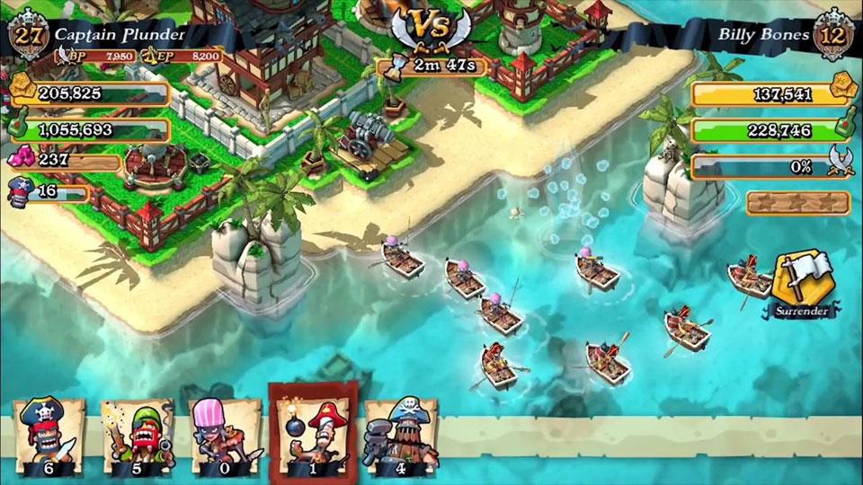 Plunder Pirates: Build Battle на андроид