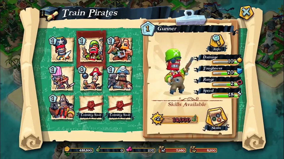 Plunder Pirates: Build Battle на телефон