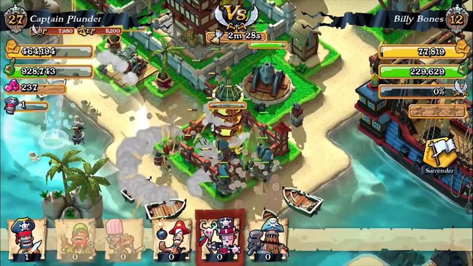 Plunder Pirates: Build Battle скачать