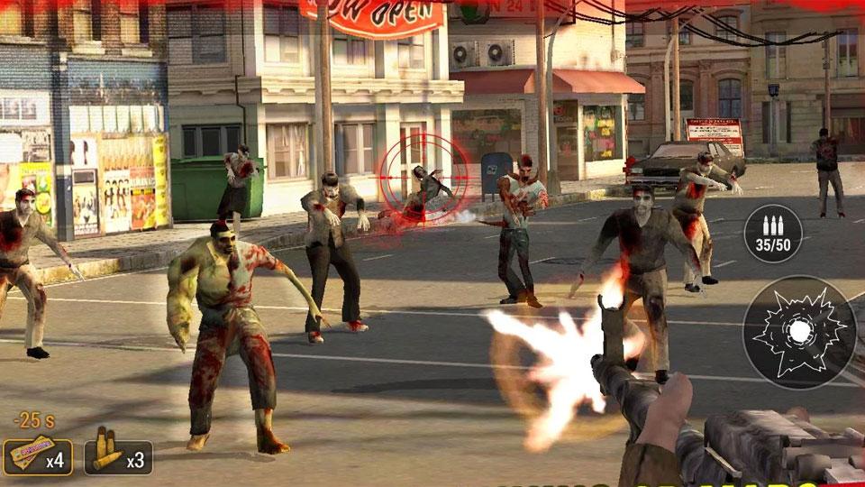 Zombie Hunter: War of The Dead на андроид