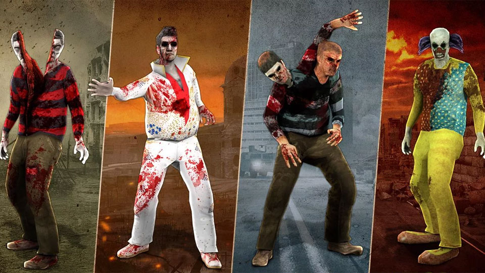 Zombie Hunter: War of The Dead скачать