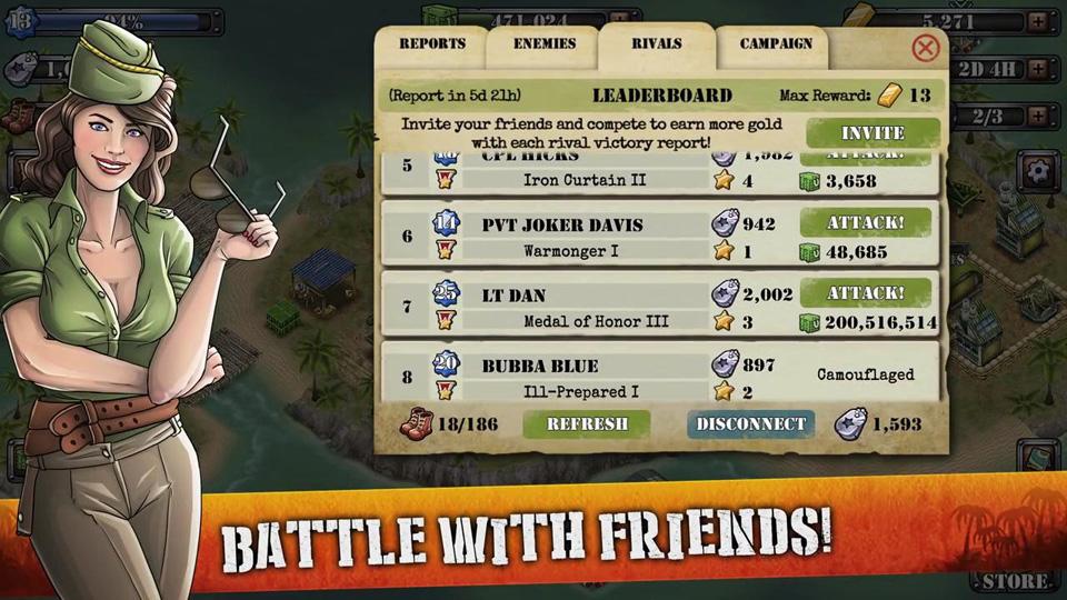 Battle Islands на телефон