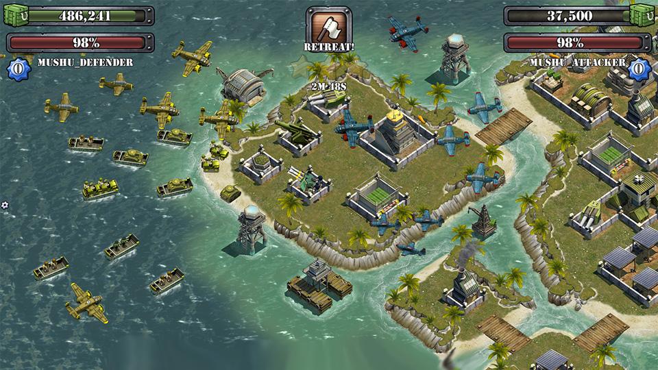 Battle Islands скачать