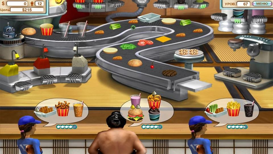 Burger Shop на андроид