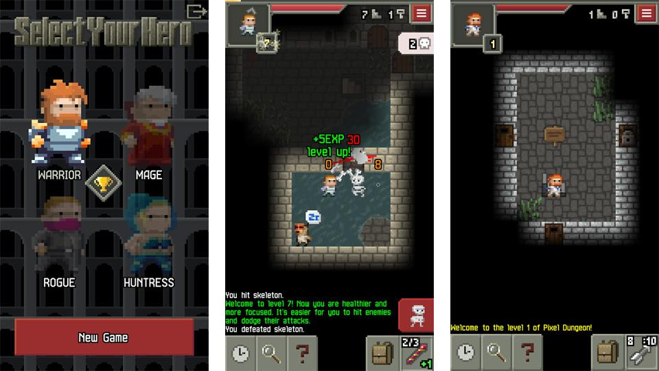 Pixel Dungeon на андроид