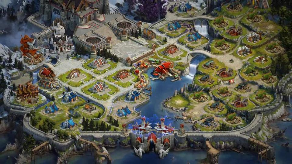Vikings: War of Clans на андроид
