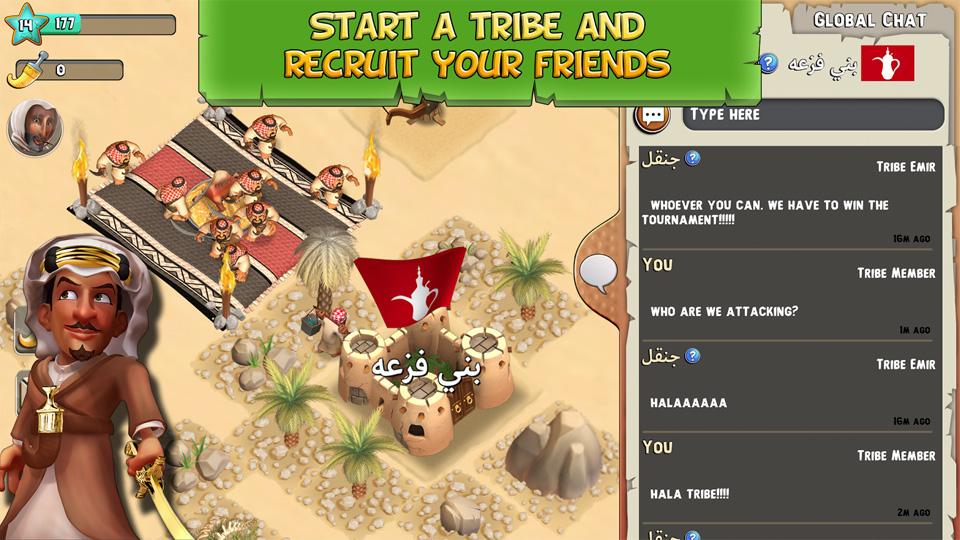 Tribal Rivals на андроид